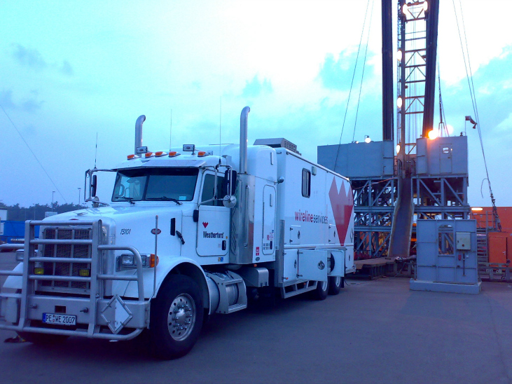 Wireline Logging Truck